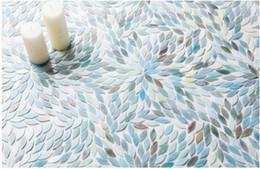 Leaves Shape Natural Glass Tiles,Kitchen Backsplash Wall Tiles,Bedroom  Bathroom Home Wall Decoration Glass Brick Tiles,LSBV4002A Inexpensive Glass  Brick ...