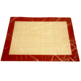 "silicone bread mat NZ - Promotional Silicone Baking Liner Non Stick Silicone Bread Baking Mat Cooking Mesh 8.5"" X 11.5 """
