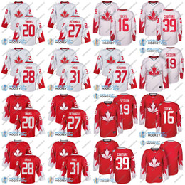 12c017cad 2016 World Cup Hockey Jerseys WCH CND Team 87 Sidney Crosby 16 Jonathan  Toews 2 Duncan Keith Jay Bouwmeester Shea Weber Jake Muzzin