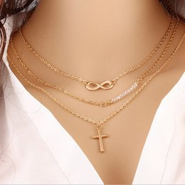 $enCountryForm.capitalKeyWord Canada - cross necklace Three layers necklaces for girls price for evening dresses for women indian style prom dresses girlfriends birthday 2017 new