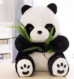 $enCountryForm.capitalKeyWord Canada - Wholesale HOT Baby Sitting Panda Stuffed Animal Plush Soft Toy Cute Doll Gift Boys&Girls