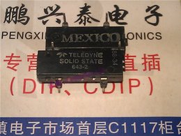 mp3 circuit NZ - 643-2 . 643-1 , TELEDYNE SOLID STATE DC RELAY integrated circuit IC , dual in-line 4 pins plastic package . PDIP4 , Relays Components