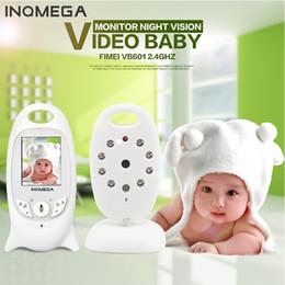 digital video intercom 2018 - Wholesale- Night Vision Wifi Monitor Baby Digital Video Monitor Camera Two-way Audio Music Temperature Display Radio Cam