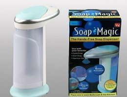 Hotel Hand soap online shopping - 400ML Soap dispenser Hotel household Fully automatic Infrared Induction Hand washing machine Convenient and quick durable hot sell zb J R