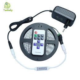 Discount uk power strip - Wholesale-Tanbaby 5630 led strip with Controller and Power supply 5M 300led DC12V flexible strip light Not waterproof ri