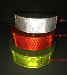 5см * 50м Высокая видимость ПВХ светоотражающая лента для шитья одежды