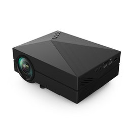 China Wholesale-GM60 LED Projector Full HD GM 60 Projector HDMI Mini Projector for Video Games TV Home Theatre Movie HDMI VGA AV SD cheap vga games suppliers