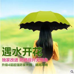 $enCountryForm.capitalKeyWord Canada - Creative water flowering, seventy percent off black plastic umbrella, anti ultraviolet umbrella, heaven umbrella