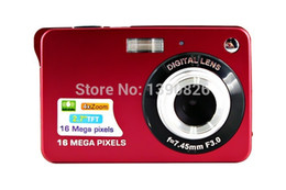 shoot video NZ - Wholesale-Digital Camera 18MP 2.7 inch TFT 4X Zoom Smile Capture Anti-shake Video Camcorder Black Red Silver