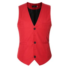 Wedding Waistcoat for men designs online shopping - Plus Size Mens Dress Vests For Man Suit Sleeveless Male For Vest Waistcoat Designs Wedding Dresses Blazer Coat Vest