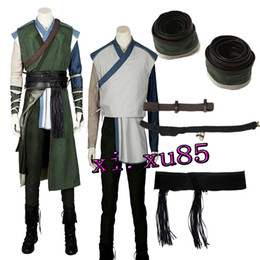 $enCountryForm.capitalKeyWord Australia - Newest Cos Baron Mordo Karl From Doctor Strange Villain Cosplay Costume Cosplay Outfit Custom Size Full Suit