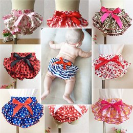 Jupe Courte Petite Fille Pas Cher-Baby Girl Ruffle Bloomer Princesse Pettiskirt Culottes Couche-culotte Nappy Shorts Briefs Summer Bottom Pantalon Nappy Covers PP Jupe