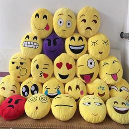 $enCountryForm.capitalKeyWord NZ - Emoji poop Pillows skins cover without filler Cushion Lovely Emoji Smiley Pillows Cartoon Cushion Pillows Yellow Round Pillow Plush B03