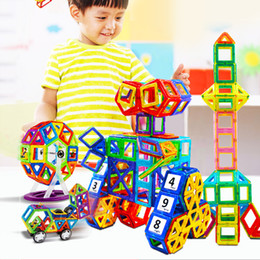 $enCountryForm.capitalKeyWord NZ - 327pcs magnetic building blocks Ferris wheel Brick designer Enlighten Bricks magnetic toys Children's birthday gift