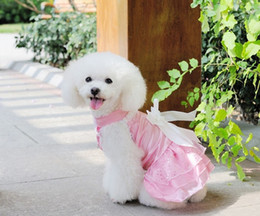 $enCountryForm.capitalKeyWord Canada - Y07 Wedding Dog Dress Pets Dogs Clothes Sweaty Puppy dog Cats Princess Bowknot Floral Tutu Dress Skirt Pets Costume for Yorkshire