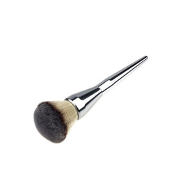 China New Fashion Kabuki kit Professional Makeup Brushes Ulta it all over 211 Flawless Blush Powder Brush Silver Color Drop Shipping cheap wholesale professional makeup kits suppliers