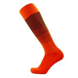 Nice stock online shopping - Long Hose Stocking High Quality Fabric Man Towel Bottom Football Sock Nice pattern Non Slip Sports Socks Multi Color Optional ms F1