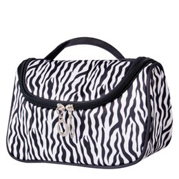 Chinese  Wholesale- Women Ladies Multifunction Cosmetic Bag Makeup Case Pouch Travel Bags Toiletry Tote Zip Wash manufacturers