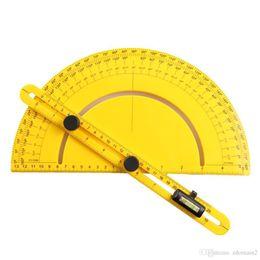 $enCountryForm.capitalKeyWord NZ - 1Piece Plastic Protractor Professional Template Tool Angle Finder Angle-izer Engineer Protractor Measure Tool Arm Ruler Gauge