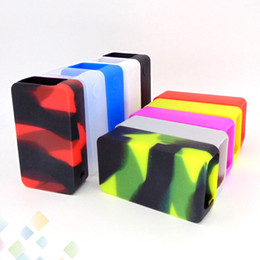 Snowwolf caSe online shopping - Colorful Snowwolf W Plus Mod Silicone Case Protective Sleeve Cover Fit Snowwolf W Max Power E Cig DHL Free