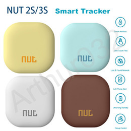 Nut gps online shopping - Original Nut S Smart Finder Tracker Nut Find S Bluetooth GPS Locator Wallet Phone Key Anti lost Alarm for Android IOS Longer Standby Nut