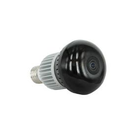 Venta al por mayor de 360 grados P2P WIFI Bombilla DVR cámara de video en casa Bombilla inteligente mini cámara IP 1.3MP VR red inalámbrica Panaramic Cam Detección de movimiento