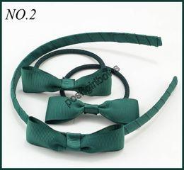 $enCountryForm.capitalKeyWord NZ - free shipping 300set 2.5-3'' small hair ties with headbands baby hair pony headbands popular hair bows forgirls