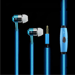 $enCountryForm.capitalKeyWord Canada - New Arrival EL Flowing Light Earphones Glowing Headphones Sports Headset With Mic Handsfree Earbud For iPhone X 8 Samsung