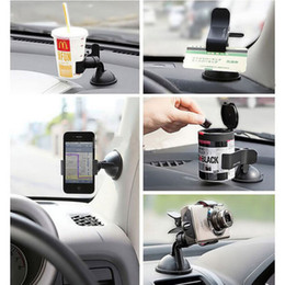$enCountryForm.capitalKeyWord NZ - Wholesale- 2017 HOT SELLING 360 Degree Rotating Car Windshield Holder Mount Stand For Tablet PC Mobile Cell Phone GPS High Quality