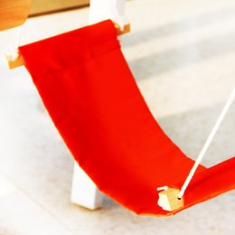 adjustable fuut desk feet hammock mini portable office study foot rest hammock foot care tool outdoor rest