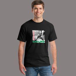 17681e164 Wholesale- The Clash London Calling print t shirts men Rock Music CD Band T- Shirts fashion cotton t shirts casual tops tees Unisex S-XXXXL