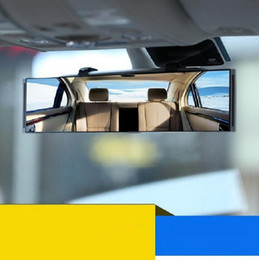 rear view mirror glasses NZ - flat room Car Mirror Blind Spot glass Side Wide Angle Auto Rear View assist trucks vehicle universal