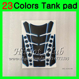 gas cap honda NZ - 23Colors 3D Carbon Fiber Gas Tank Pad Protector For HONDA NSR250R MC28 NSR 250R NSR250 R 1994 1995 1996 1997 1998 1999 3D Tank Cap Sticker