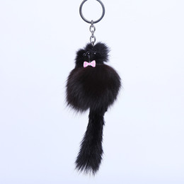 photo plate wholesale UK - 2017 new fashion car hang a plush key chain for accessories and accessories for animal accessories, keychains