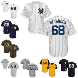 c4c73351b ... italy stitched mlb jersey new york yankees jersey 68 dellin betances  baseball jerseys size s 4xl