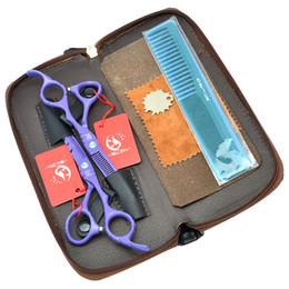 shear sharp UK - 5.5Inch Meisha Professional Hairdressing Scissors Kits JP440C Cutting & Thinning Scissors Sharp Edge Shears Hair Shears with Bag, HA0176