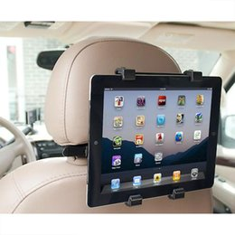 Back Seat Tablet NZ - Wholesale- car universal Car Back Seat Headrest Mount Holder Stand Stents for iPad Tablet PC Android tablet Stands