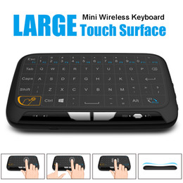 google tv mouse 2019 - H18 Mini Wireless Keyboard 2.4GHz Portable Keyboard With Touchpad Mouse for Windows Android Google Smart TV Linux Window