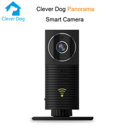 home plug cctv security cameras Canada - Clever Dog Panoramic Camera 960P Mini CCTV VR Camera 1.3MP HD Home Security WiFi IP Camera Video Surveilance Videcam