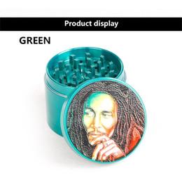 $enCountryForm.capitalKeyWord Australia - DHL 63mm Diameter Grinder Glass Bowl Herb Holder Cartoon Product 5 Colors For Choose Red Blue Sliver Gun-black Green 5918