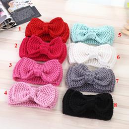 Mexican baby headbands online shopping - 2017 Baby Kids Wool Headbands Kids  Autumn Winter Crochet Hair 4cfd477179f