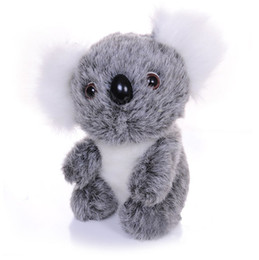 stuffed animal stuffing UK - Cute koala plush toys doll 3 sizes stuffed animals koala bear lovely kids Plush Toys Kids Birthday Xmas Gift