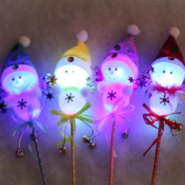 $enCountryForm.capitalKeyWord Canada - Christmas Christmas toys Christmas Snowman Christmas toys with lights light Christmas toys creative handheld fairy stick children gift