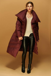 Luxury Women Parka Canada - High Quality New Fashion Trend Designer 2018 Winter Women Duck Down Parkas Coat Luxury European Women Long Down Parka Jackets