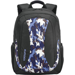 Camouflage Day Backpacks Canada - 14 laptop backpack Sumdex computer daypack Camouflage PC school bag Pon 393X Sac schoolbag Outdoor rucksack Sport day pack