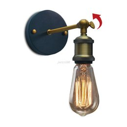 loft wall lamp vintage light sconce lamparas industrial lighting luminaire lamps for living room bedroom e27 home decor fixtures