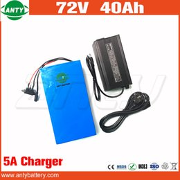 $enCountryForm.capitalKeyWord Canada - Electric Bicycle Battery 72v 40Ah Lithium Scooter Battery 72v 2800w with 50A BMS 84v 5A Charger eBike Battery 72v Free Shipping