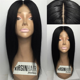$enCountryForm.capitalKeyWord NZ - Glueless Straight Full Lace Wig Mongolian hair Full Lace Human Hair Wigs For Black Women Best Lace Front Wig With Baby Hair