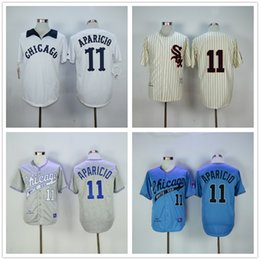 size 40 6c54a 74a98 spain grey luis aparicio authentic jersey mitchell and ness ...