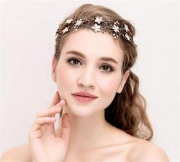 $enCountryForm.capitalKeyWord Canada - Wholesale Wedding Bridal Hair Jewelry Headpiece Crystal Rhinestone Flower Headband Hair Accessories Princess Crown Tiara Queen Jewelry Band